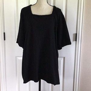 Black Fashion T shirt